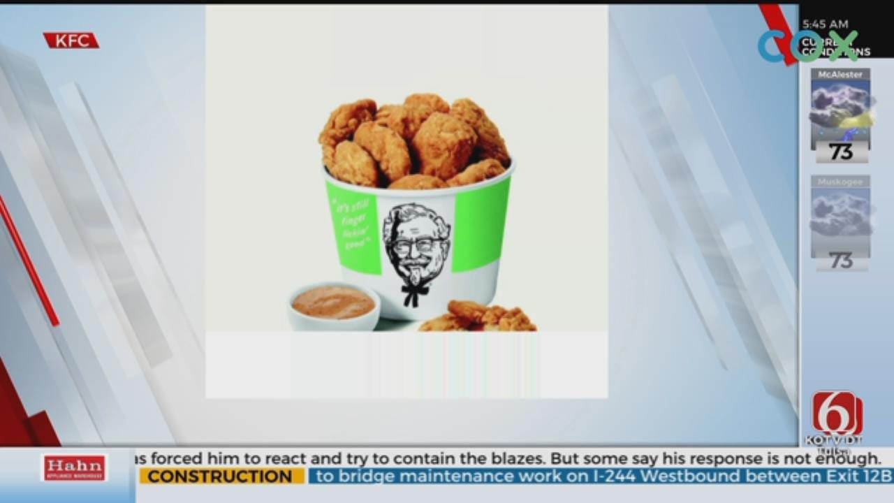 KFC To Test Beyond Meat's Plant-Based Chicken