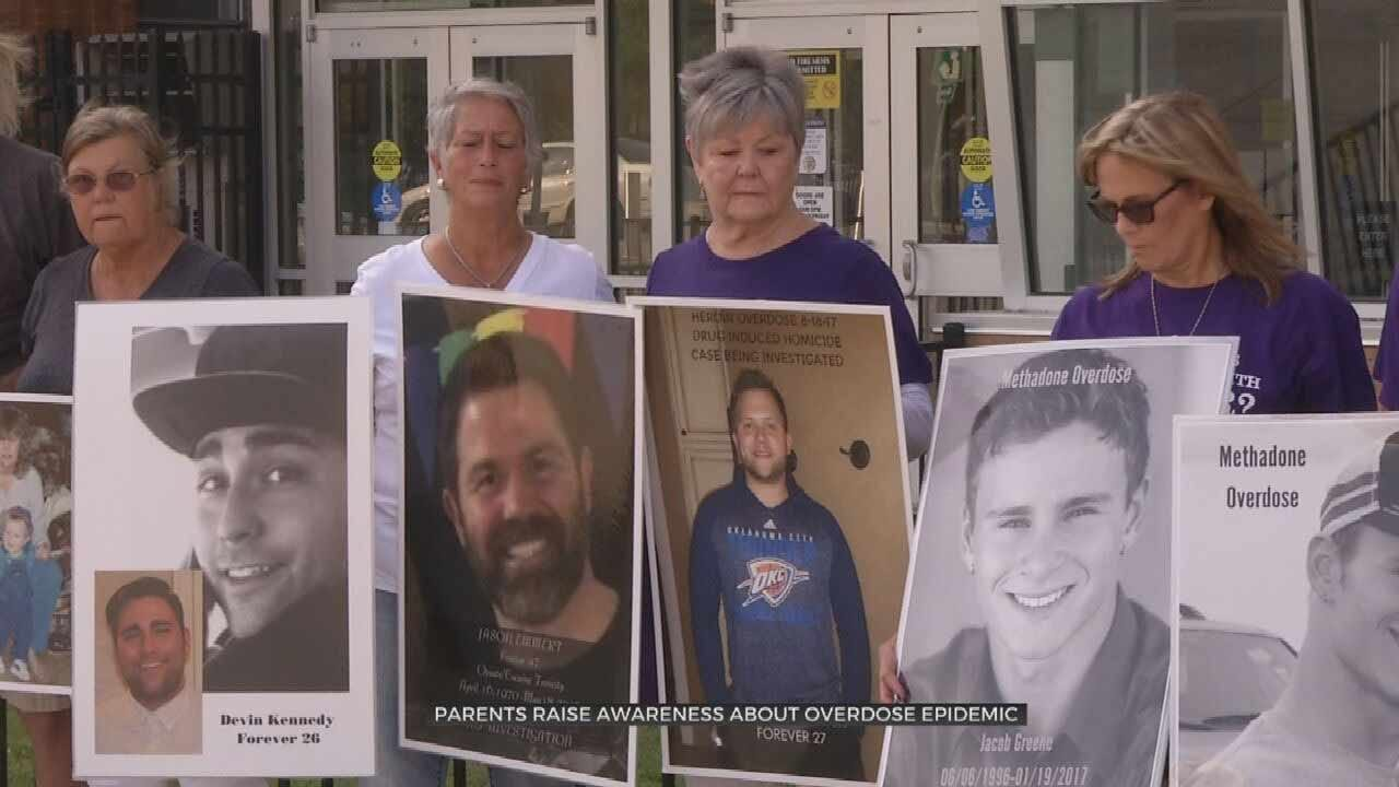 Oklahoma Families Remember Loved Ones Lost To Drug Overdose