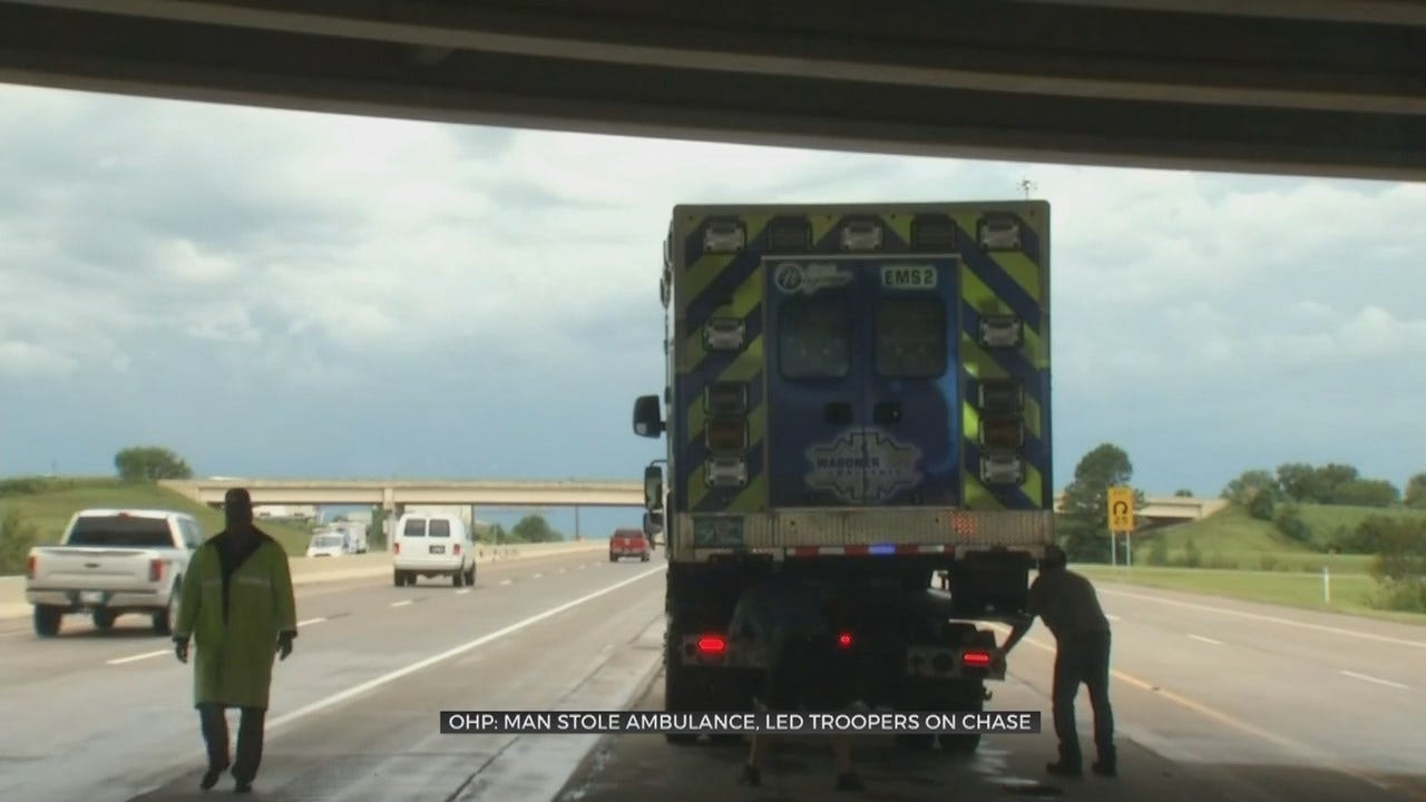 Ambulance Stolen In Muskogee Was Extra Dangerous, OHP Says