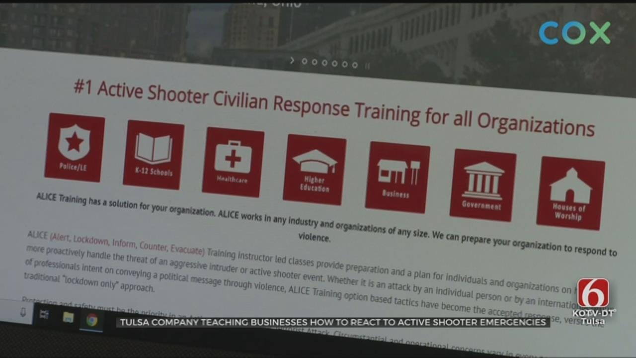 Tulsa Company Prepares Others For Active Shooters