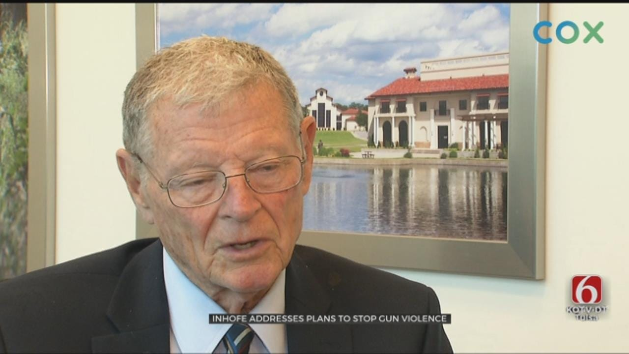 Inhofe Says President Trump Has Good Judgement On Gun Laws