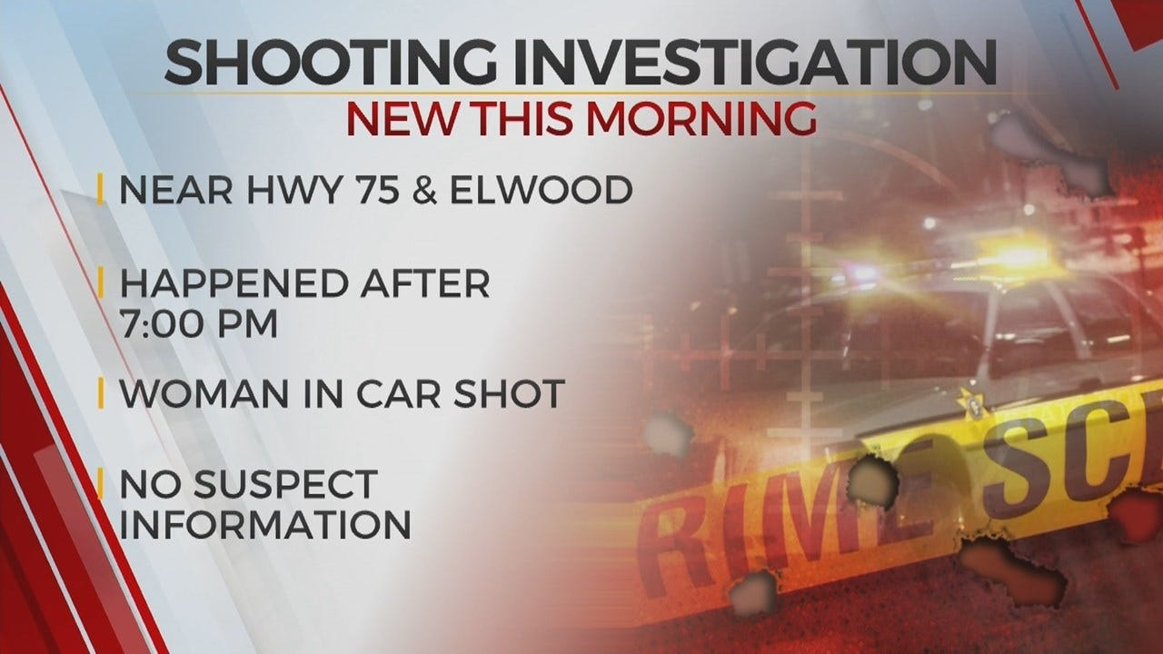 Tulsa Police Searching For Shooting Suspect