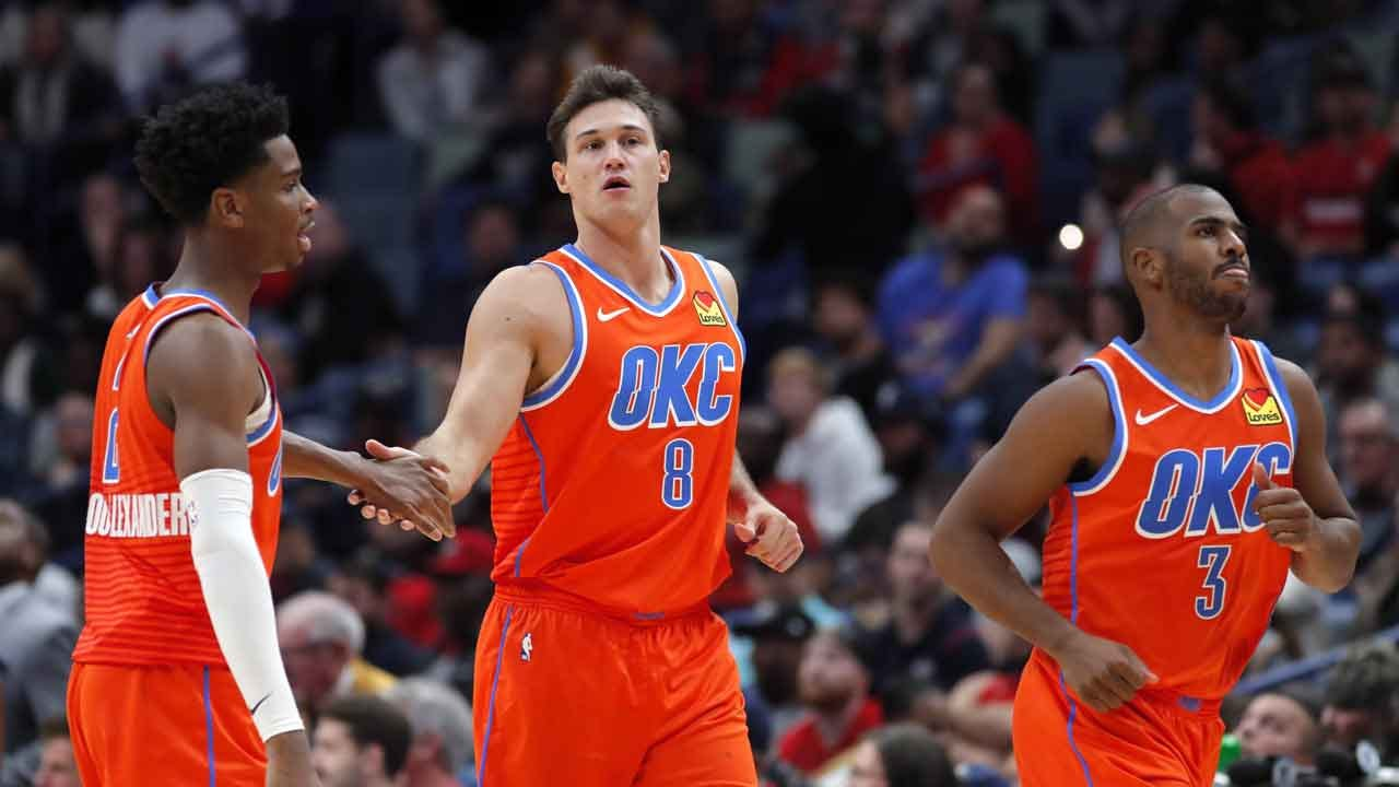 Thunder To Test Players, Coaches, Staff For Coronavirus After 2 NBA Players Test Positive