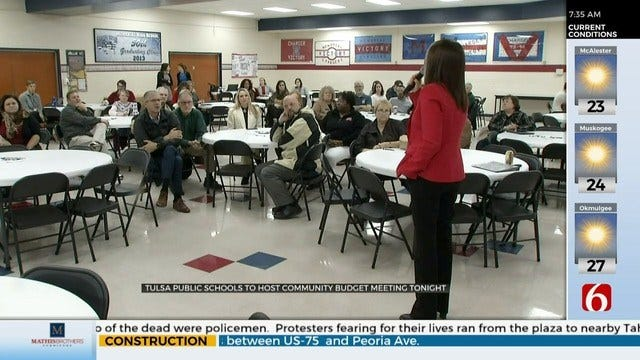 TPS Hosting Community Meetings About Budget Deficit