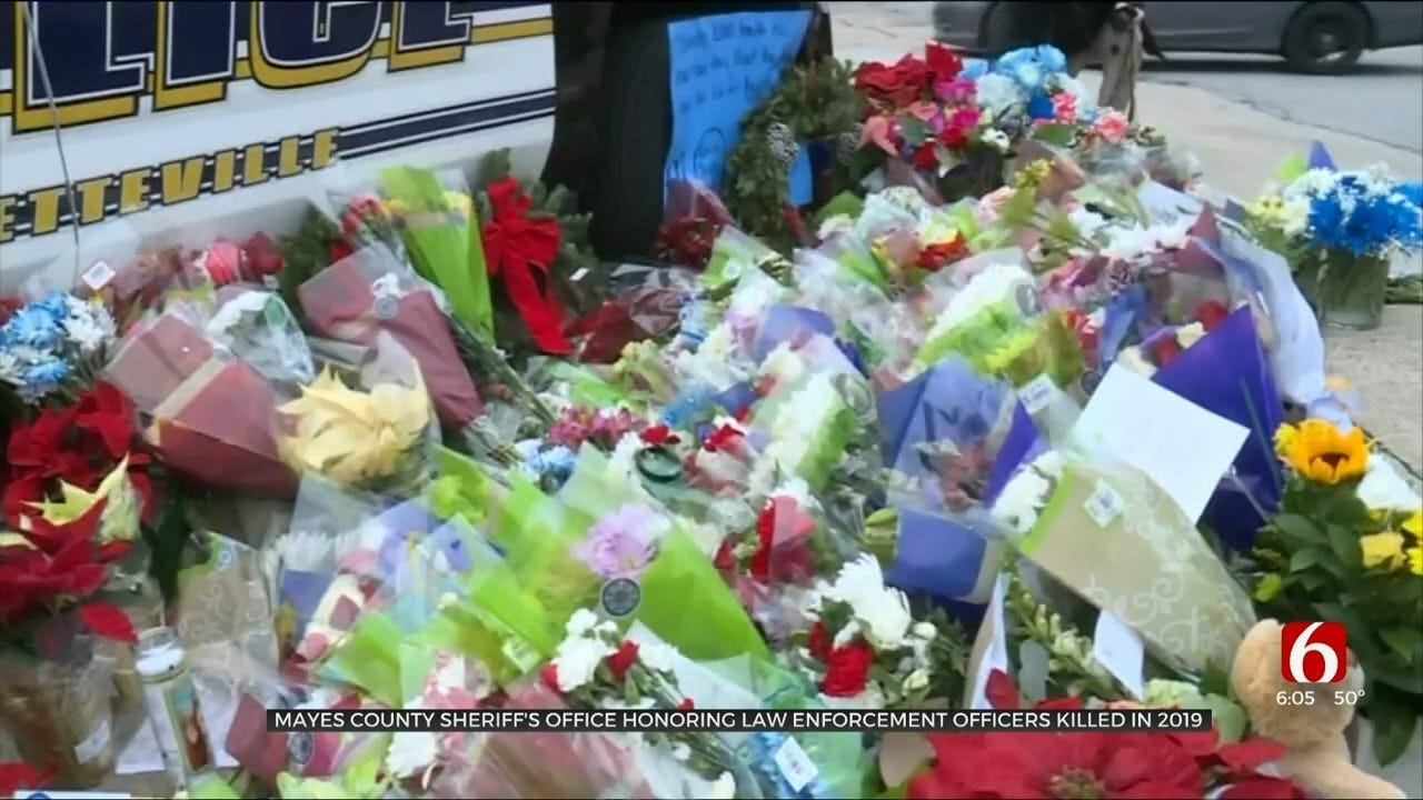 Oklahoma Woman Honors Fallen Officers With Special Memorial