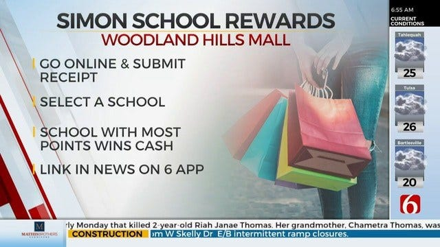 Woodland Hills Mall Helping Schools With 'Simon School Rewards'