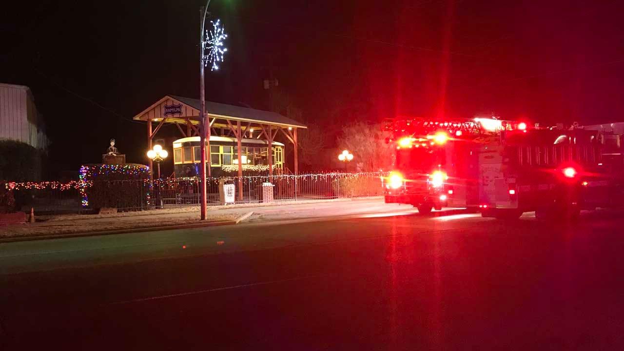 Commemorative Trolley Catches Fire In Sapulpa