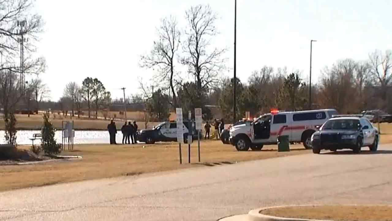 Woman Pulled From Broken Arrow Retention Pond May Survive