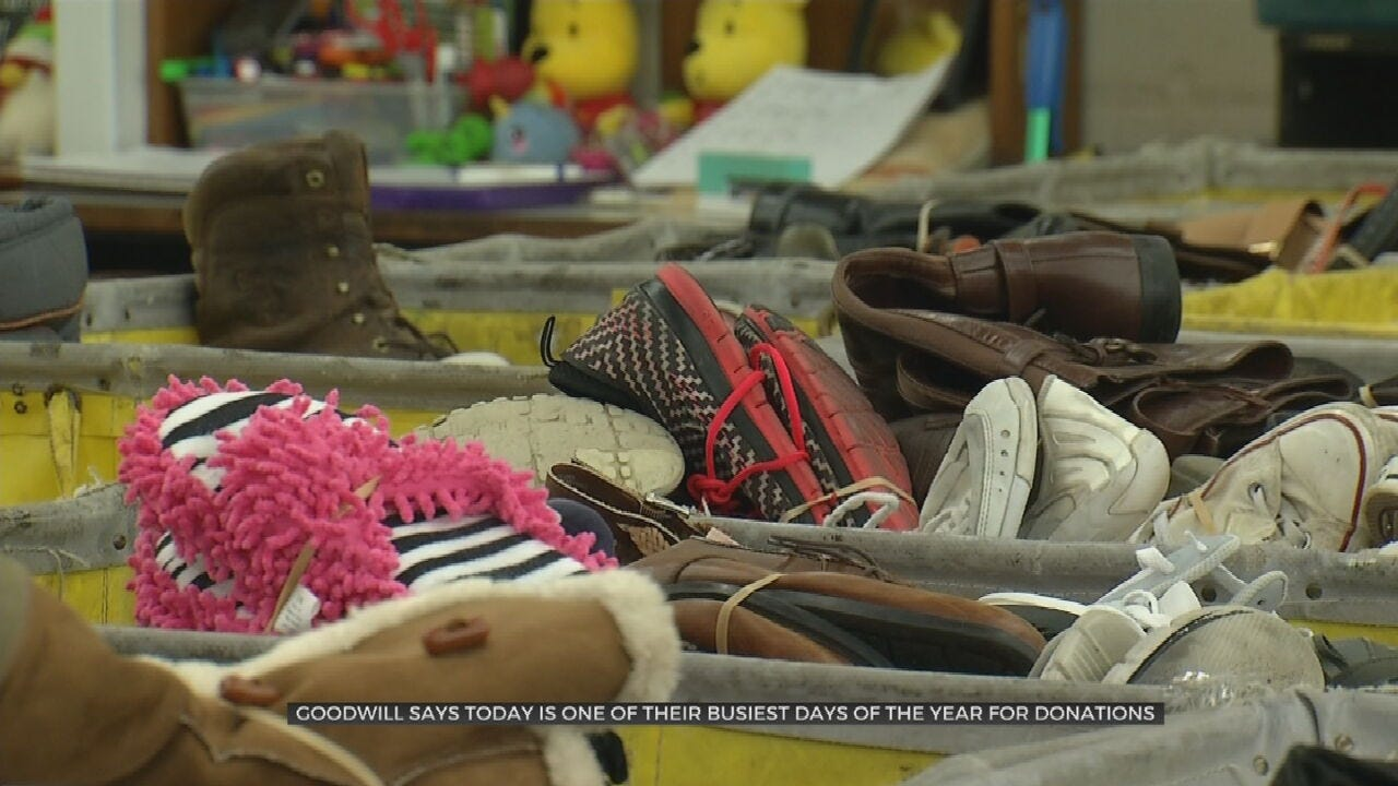 Seasonal Clean Out: New Year's Eve Busiest Day For Goodwill