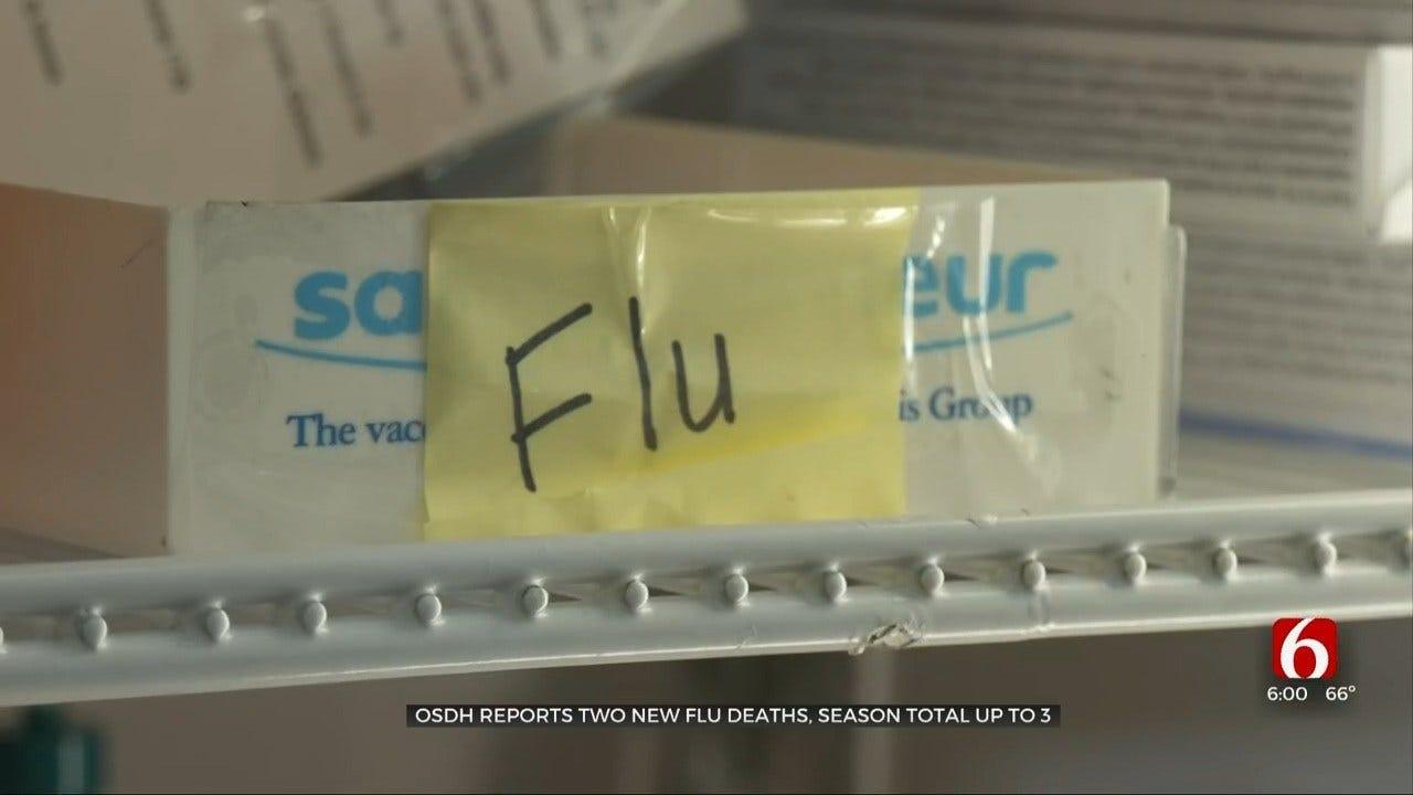 State Health Department: 3 Oklahomans Die From Flu This Season
