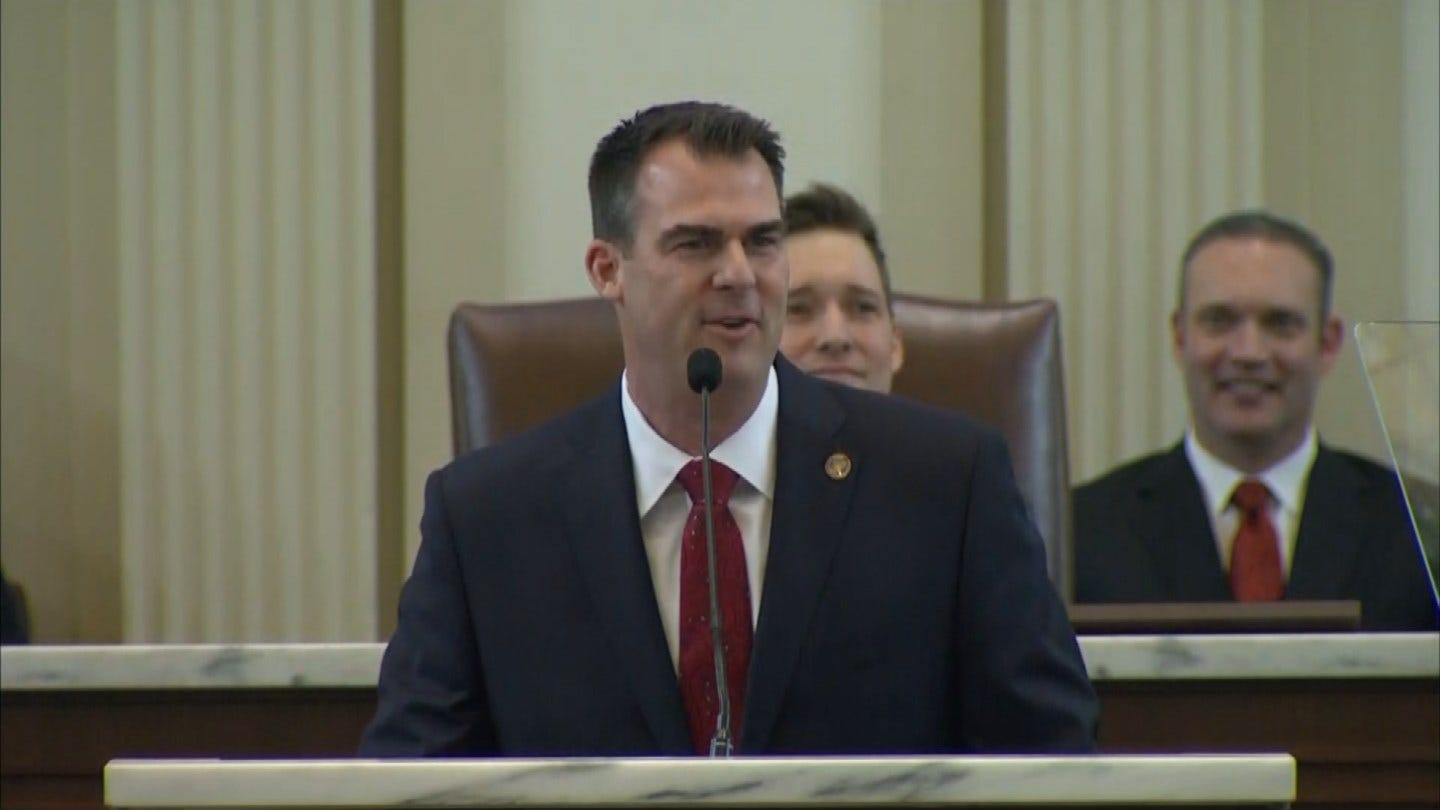Takeaways From Governor Stitt's 1st State Of The State Address
