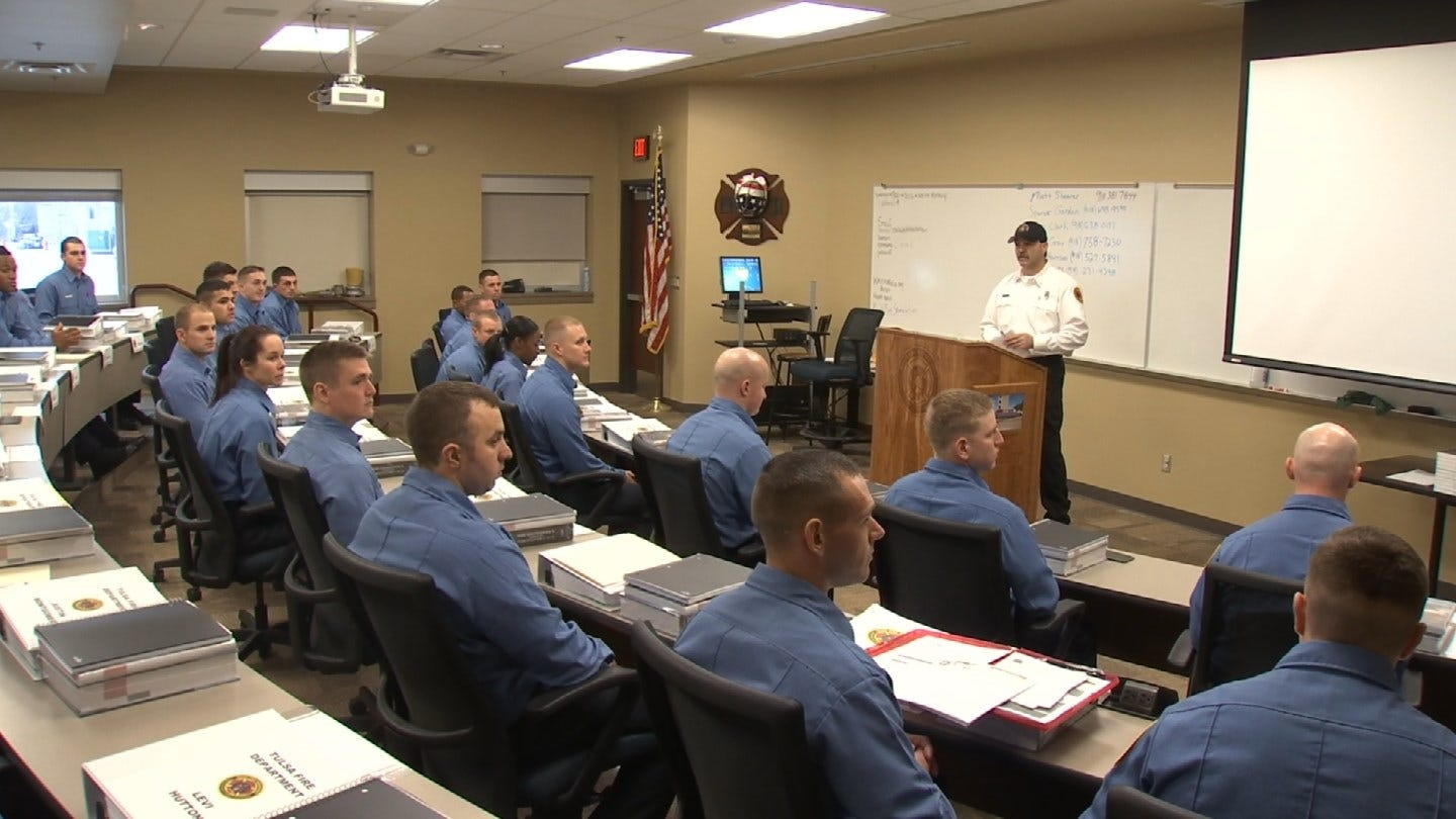 30 New Tulsa Fire Cadets Begin Academy Training