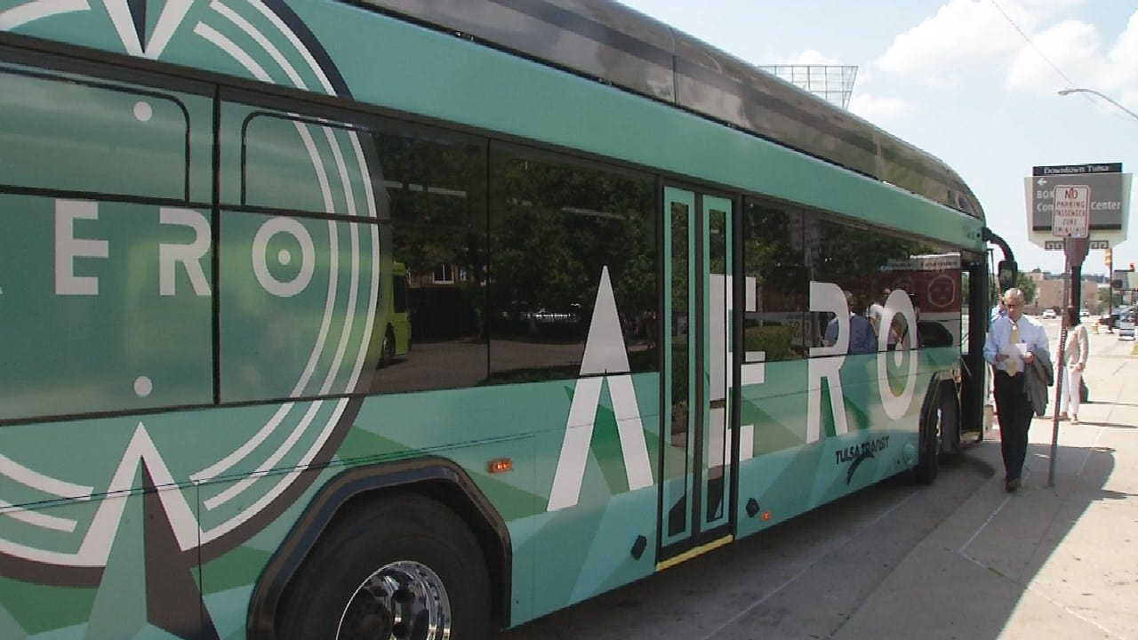 Tulsa's Aero Bus Had Roughly 85,000 Riders During Launch