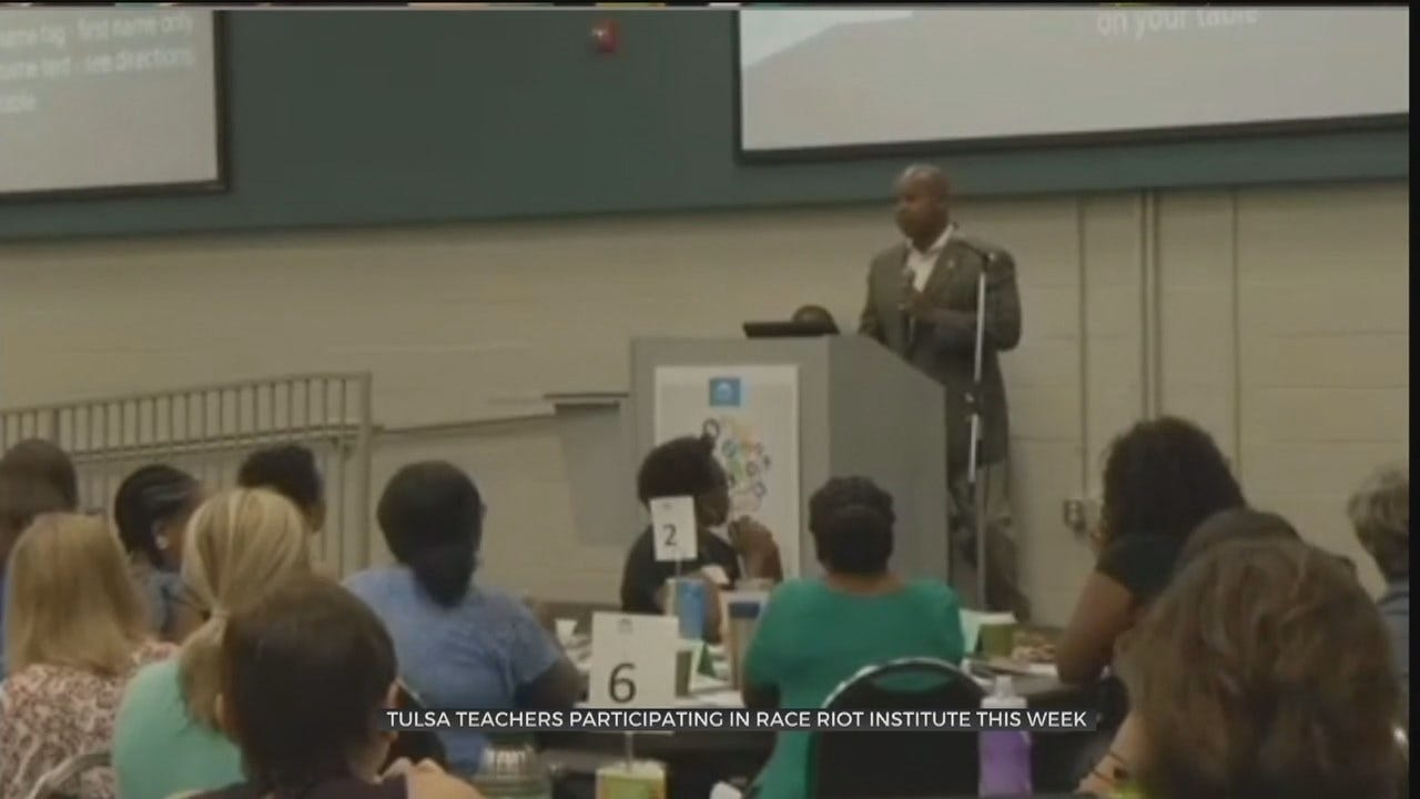 Tulsa Public Schools Holds Race Massacre Institute For Teachers