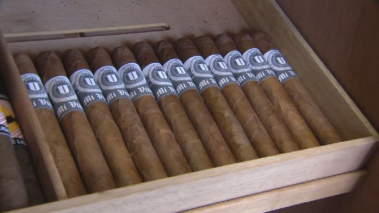 Hand Rolled Cigar Shop Makes Its Home In Tulsa