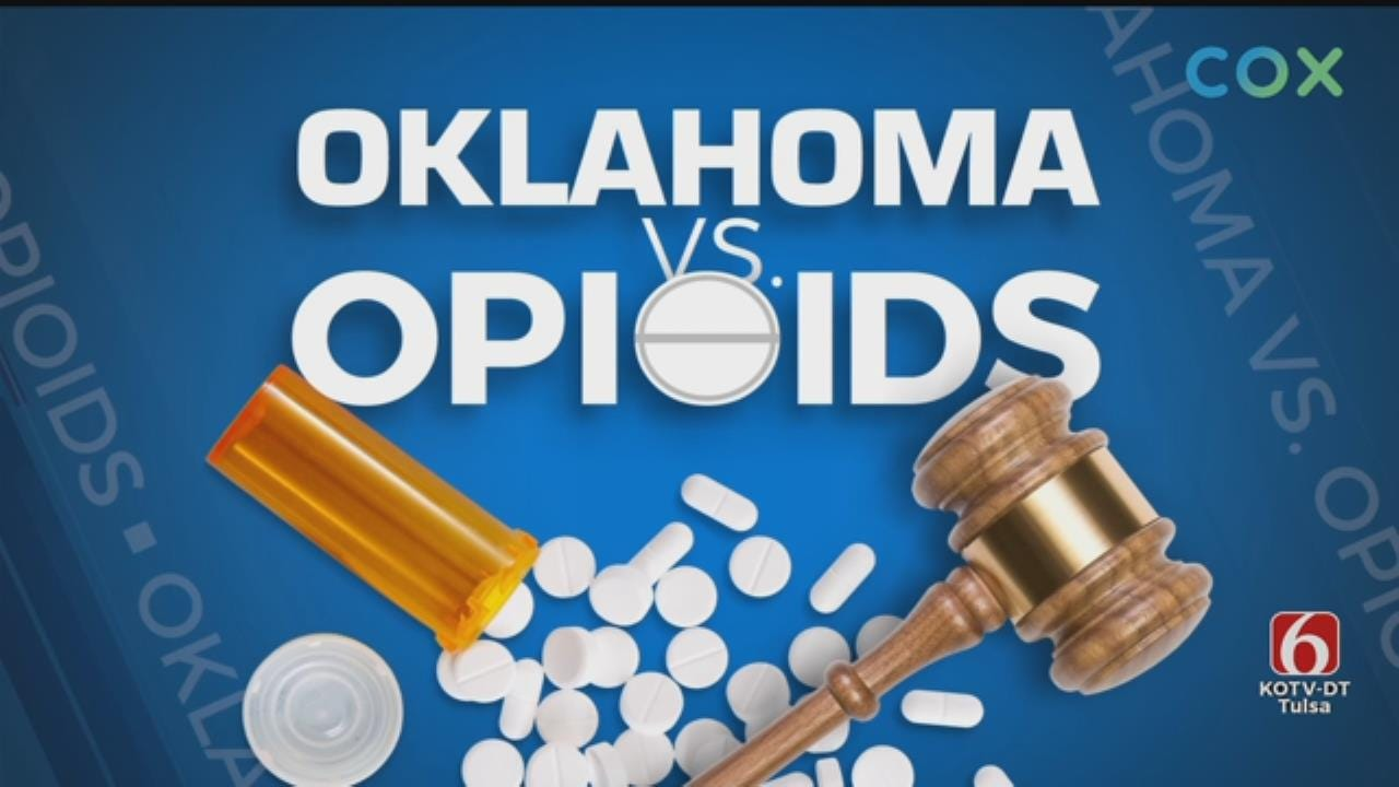 Opioid Trial: Oklahoma and Johnson & Johnson Rest Cases