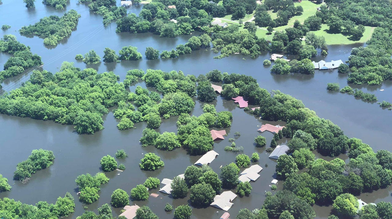Oklahoma Flooding 2019: Help Comes Statewide And Nationwide
