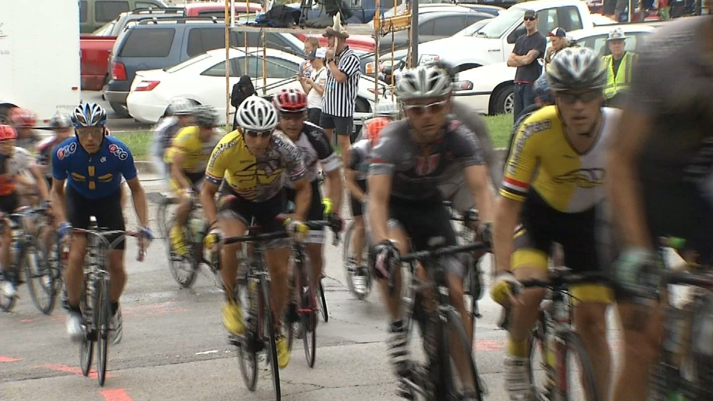 Thousands Of Cyclists Converge On Tulsa For 13th Annual Tulsa Tough