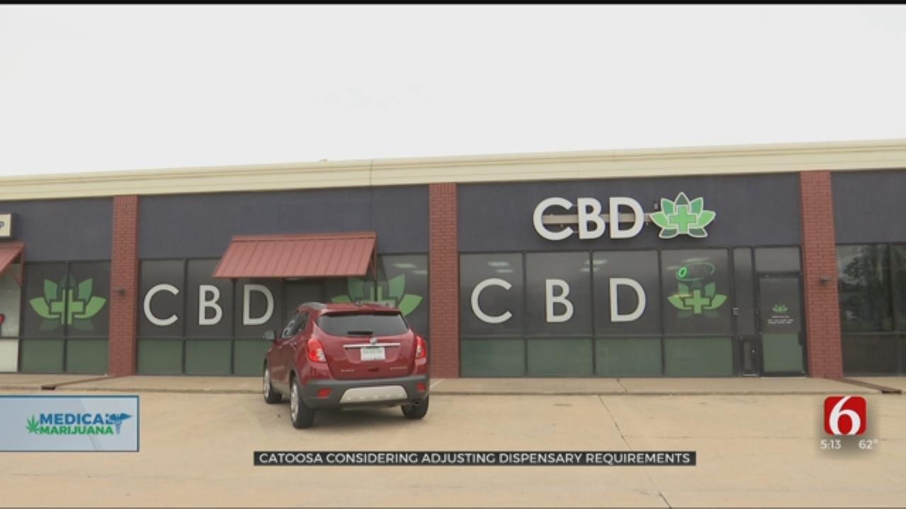 Catoosa To Vote On Reducing Distance Between Marijuana Dispensaries