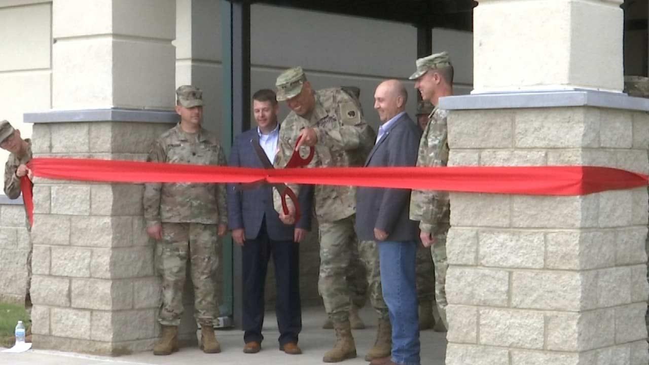 OK National Guard Celebrates New Facilities At Camp Gruber