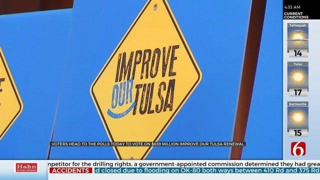 Tulsans To Vote On Improve Our Tulsa Tuesday