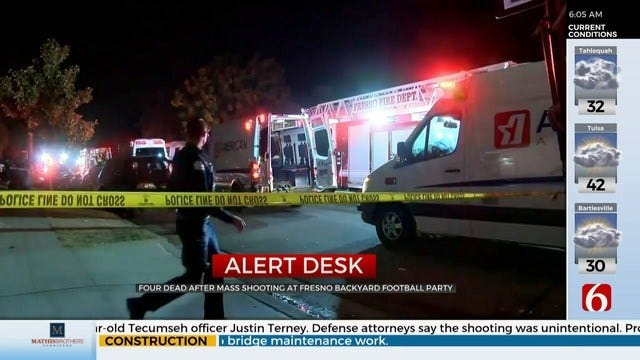 4 Dead After Mass Shooting In Fresno, California