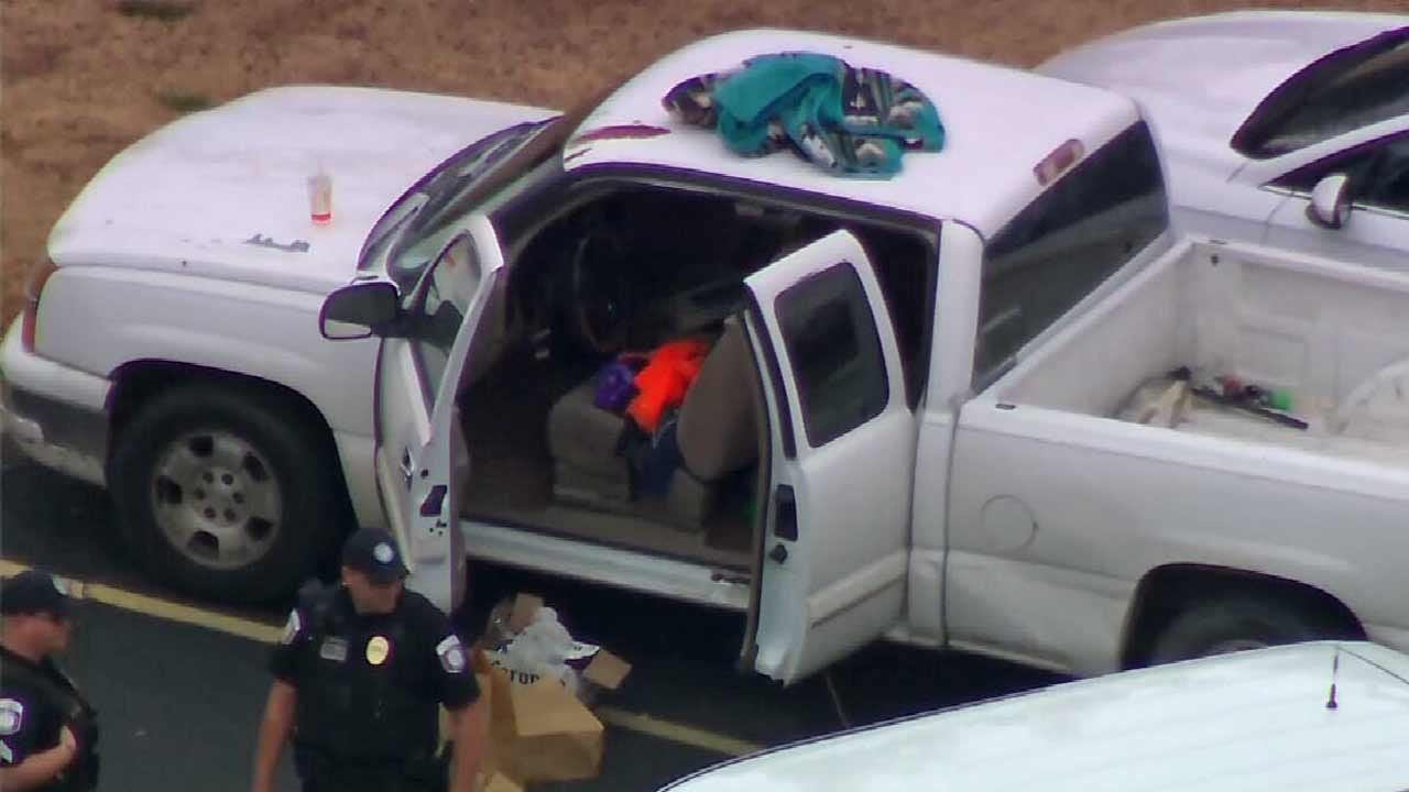 3 People In Custody After Suspicious Vehicle Stopped Near Jenks Freshman Academy