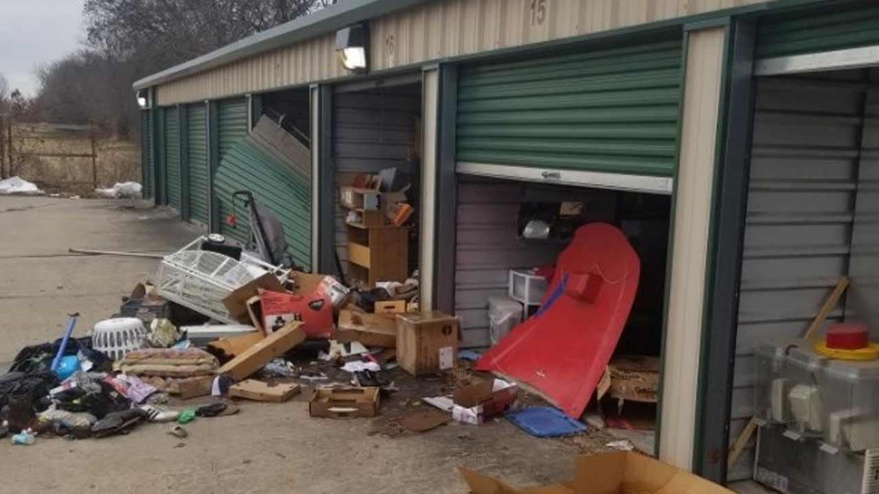 Thieves Loot Dozens Of Units At Tulsa Storage Business