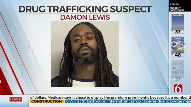 Police: Tulsa Man Arrested After Meth, Cocaine Found In Apartment