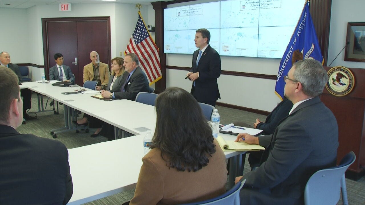 Tribal Leaders Meet With U.S. Attorney's Office Over Missing And Murdered Native Americans