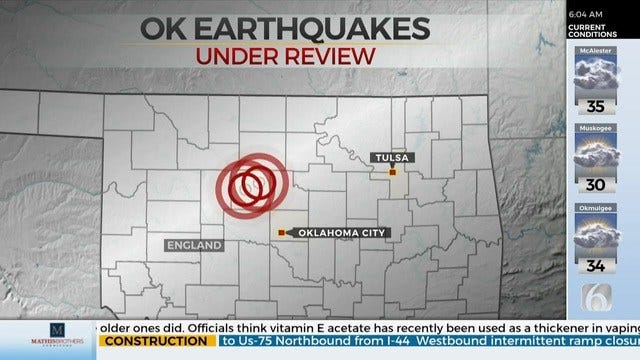 Officials Investigate If Recent Earthquakes Related to Oil & Gas Activity