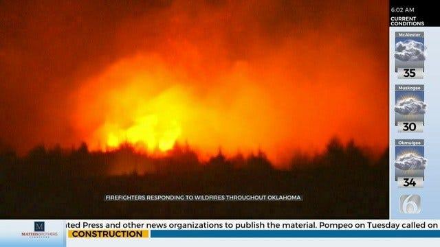 Wildfires Impact Cities, Counties Across Oklahoma