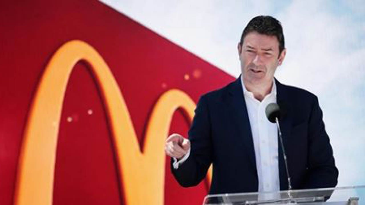 McDonald's Fires CEO For 'Consensual Relationship' With Employee