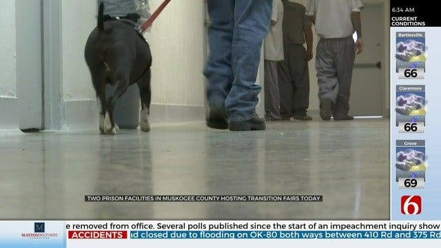 Prisons Hold Transition Fairs To Help Inmates Adjust To Life After Release