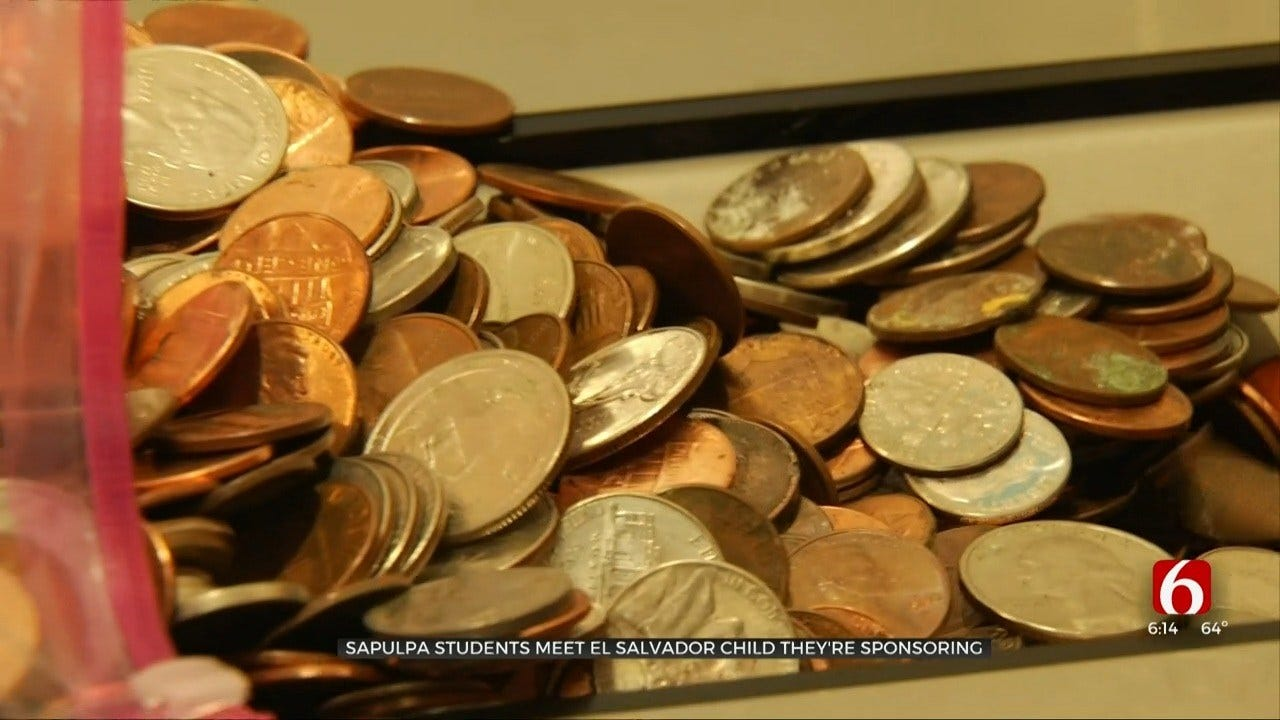 Sapulpa Liberty Elementary STEM Academy Holds Coin Drive To Pay For Orphan's Scholarship