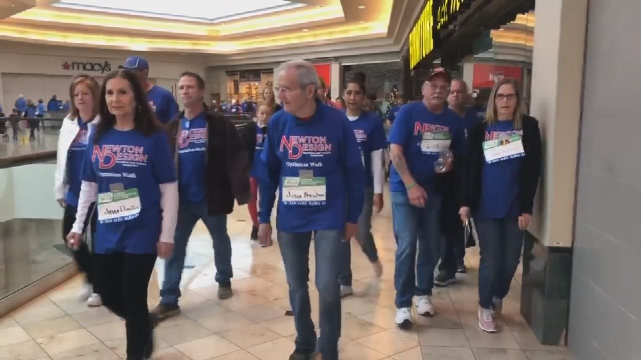 Tulsans Donate Nearly $14,000 For Parkinson's Disease