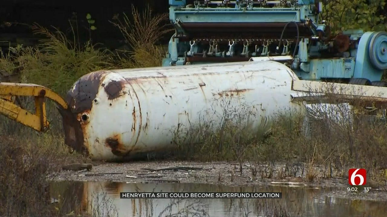 EPA Concerned About Contaminated Site In Henryetta
