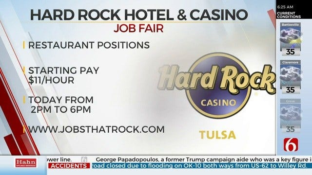 The Hard Rock Hotel And Casino Holds Job Fair