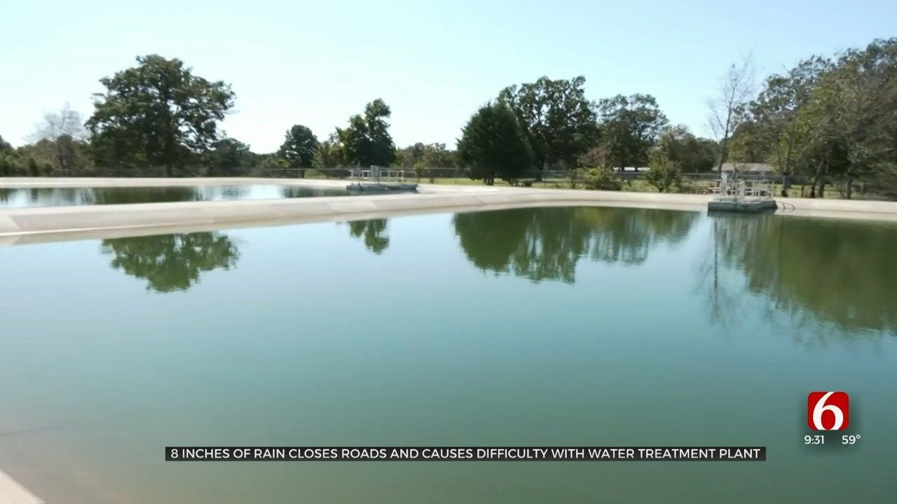 October Rains Bring Flooding, Water Supply Issues To Jay