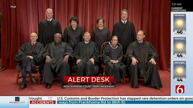 Supreme Court Starts New Term, To Hear Civil Rights Argument