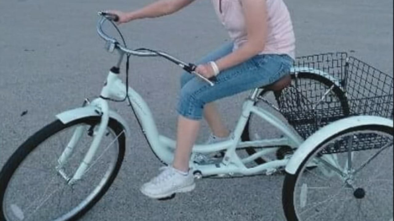 Tulsa Woman Asks For Help Finding Stolen Tricycle