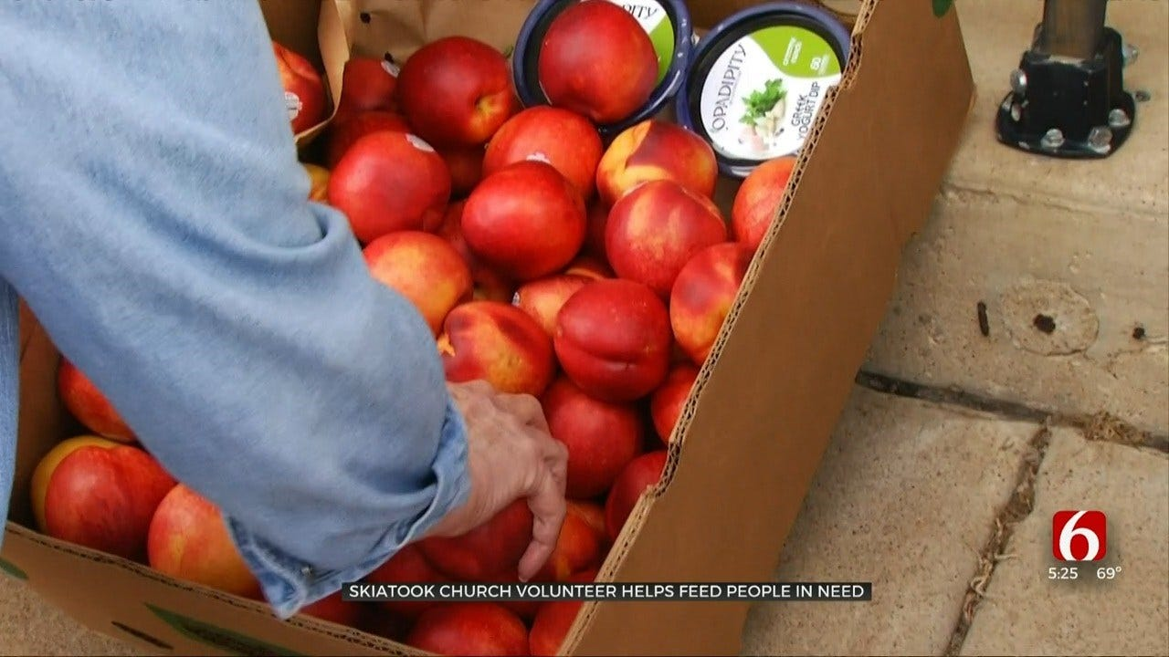 Skiatook's 'Heaven Sent' Food Pantry