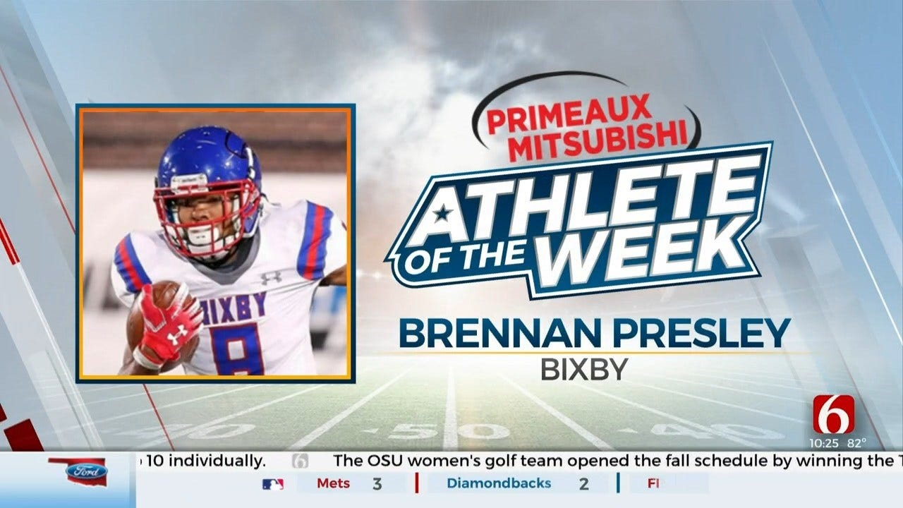 Primeaux Mitsubishi Athlete Of The Week: Brennan Presley