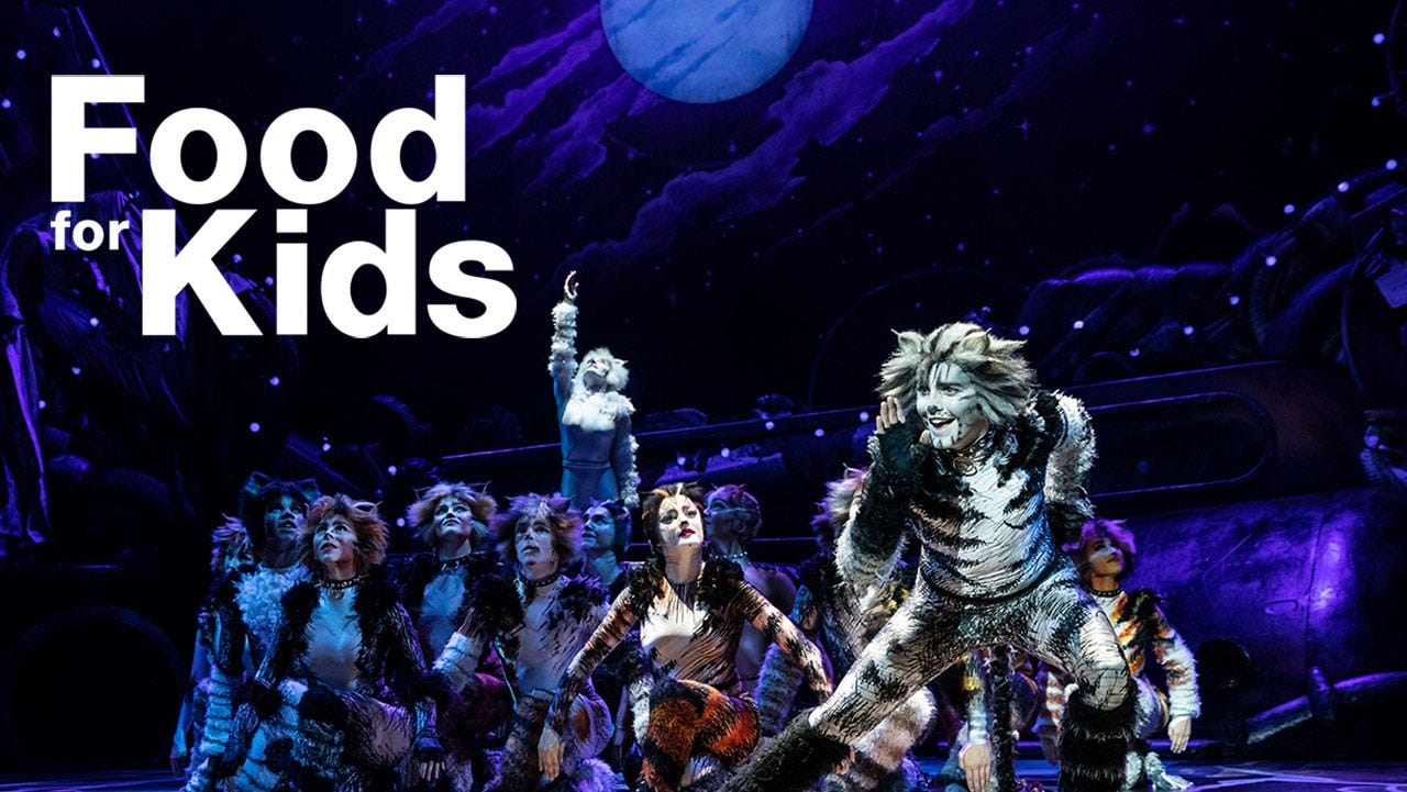 """""""Cats"""" Benefiting Food for Kids"""