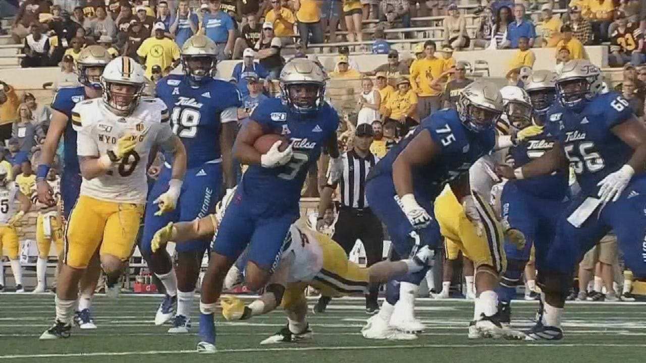 Tulsa Beats Wyoming With Late TD, Final Score 24-21