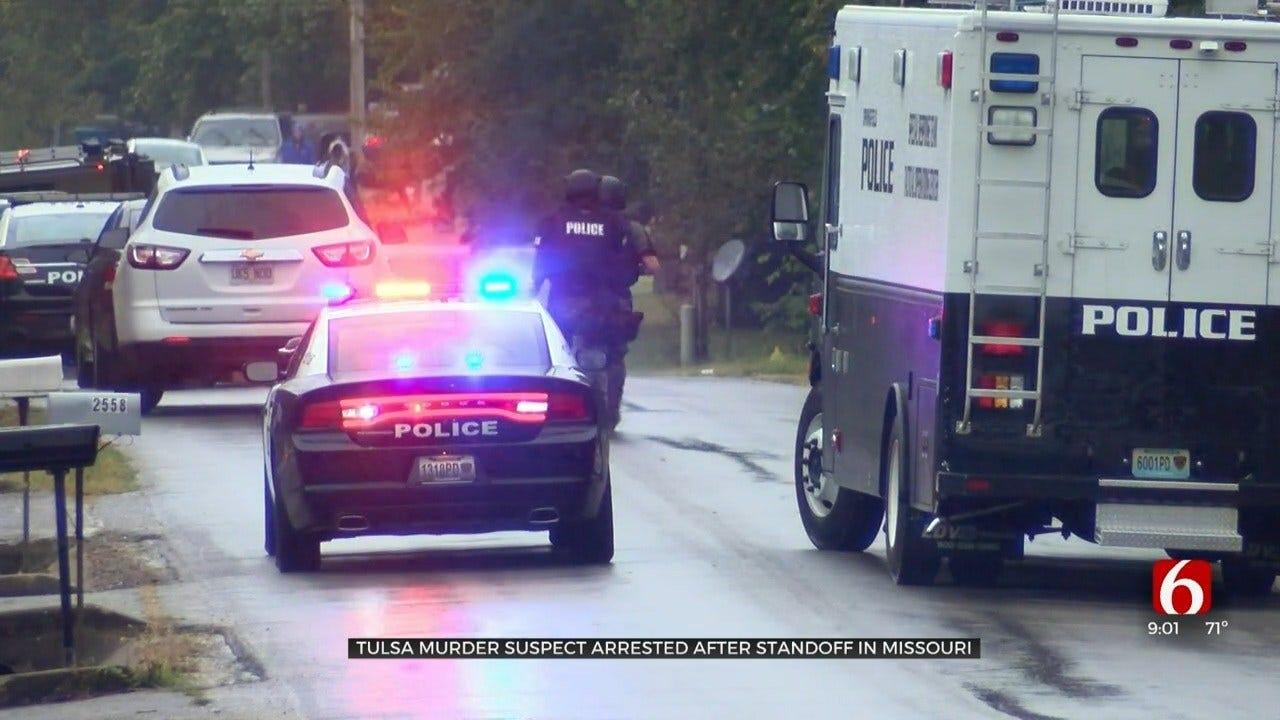 Tulsa Police Arrest Woman Suspected Of Murder After Missouri Standoff