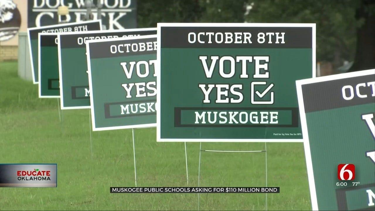 Muskogee Public Schools Hope For $110 Million Bond