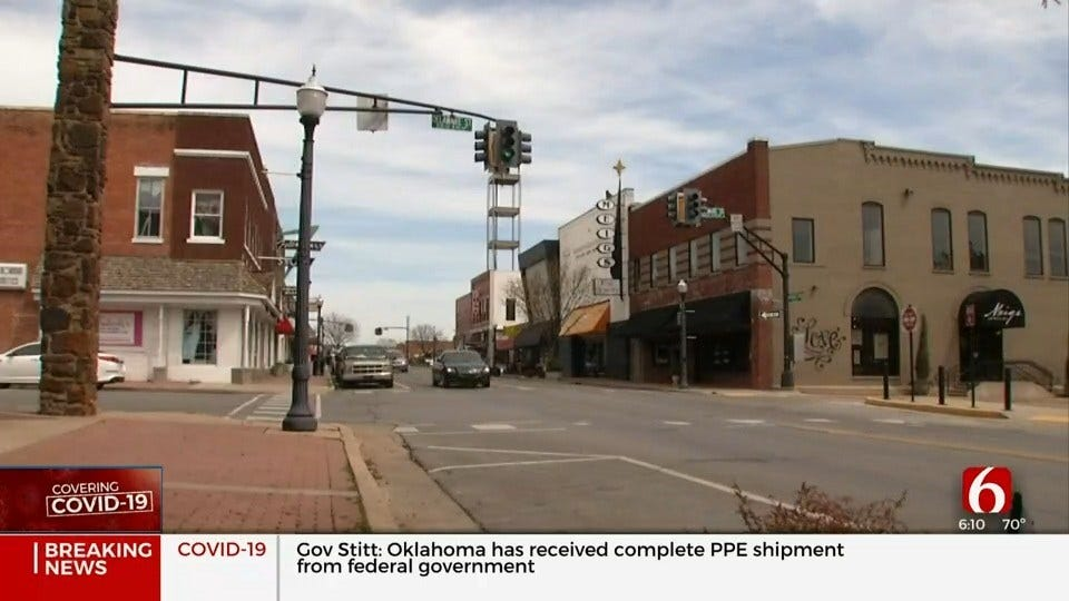 City Of Tahlequah To Enforce Public Safety Curfew Amid COVID-19 Concerns