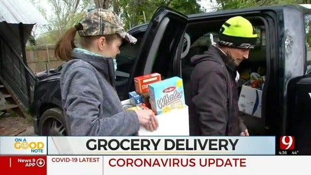 Norman Couple Collects Donations, Helps Deliver Groceries To Neighbors In Need