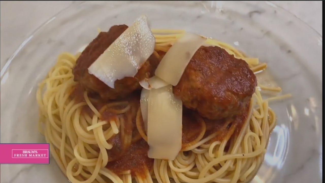 Healthy Spaghetti & Meatballs
